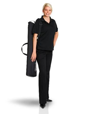 Levereras i väska som är enkel att bära med sig